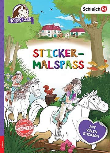 Schleich Horse Club Sticker-Malspaß