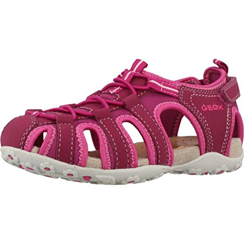 Geox Mädchen Jr Roxanne C Geschlossene Sandalen mit Keilabsatz