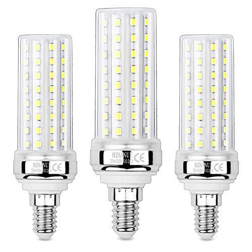 Hzsanue Lampadine LED 20W, 150W Lampadine a Incandescenza Equivalenti, 2000Lm, 6000K Luce Bianca Fredda, E14 Vite Piccola Edison, Confezione da 3