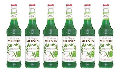 Monin Sirup Pfefferminz Grün, 0,7L 6er Pack