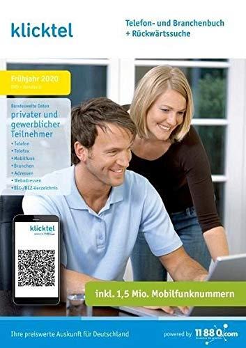 klicktel Telefon- und Branchenbuch + Rückwärtssuche Frühjahr 2020