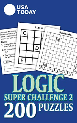USA TODAY Logic Super Challenge 2: 200 Puzzles (Volume 31) (USA Today Puzzles)の詳細を見る