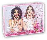ZEP S.r.l. Shake Frame Flamingo Marco de plástico, Claro, Bildformat 10 x 15 cm