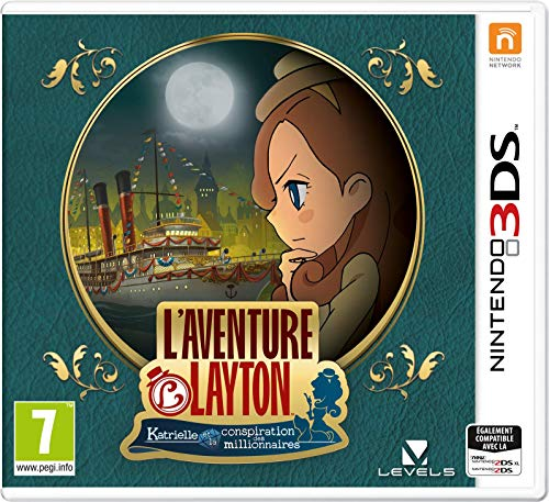 L'Aventure Layton: Katrielle et la conspiration des millionnaires - Nintendo 3DS [Importación francesa]