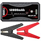 NEXPOW Car Battery Starter Q10S, 1500A Peak 12800mAh 12V Car Auto Jump Starter Power...