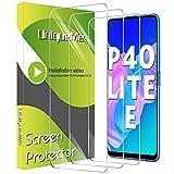 UniqueMe [3 Stück] Schutzfolie für Huawei P40 Lite E Panzerglas, [Einfache Installation] [9H Festigkeit] Gehärtetem Glas P40 Lite E Bildschirmschutzfolie.