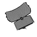 Motorcycle Radiator Protective Cover for Y&amaha MT-10 MT10 MT 10 FZ10 FZ 10 FZ-10 2016-2021 Motorcycle Radiator Grille Guard Oil Cooler Cooling Cover Protection Grille Cover (Color : 1 Set)