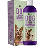 Vanilla Oatmeal Dog Shampoo with Aloe Vera - Colloidal Oatmeal Shampoo for Dogs & Puppies - Pet Shampoo for Dogs with Sensitive Skin