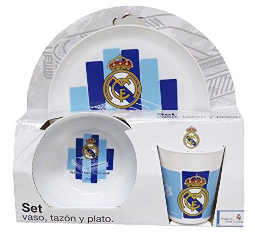 Real Madrid GS-35-RM Set Desayuno de plastico