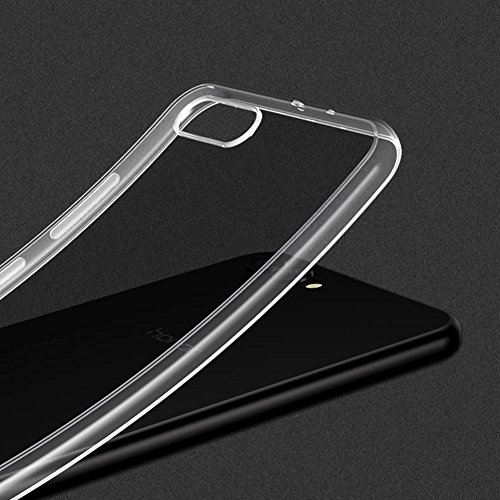 TopACE Hülle für Honor View10, Honor V10 TPU Hülle Schutzhülle Crystal Case Durchsichtig Klar Silikon Transparent für Huawei Honor View 10 (Transparent) - 2
