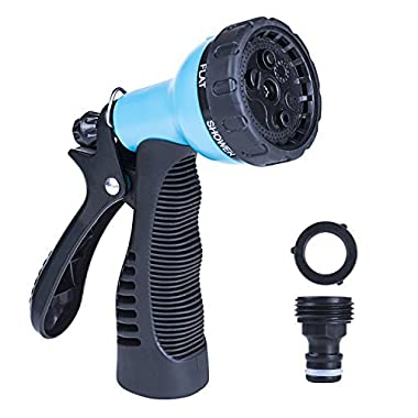 QNLYCZY Garden Hose Nozzles /Hose nozzle heavy duty,water hose nozzle, High Pressure Garden Sprayer, High Pressure Nozzle, Ideal Car Wash, Watering Lawn, Garden and Pets