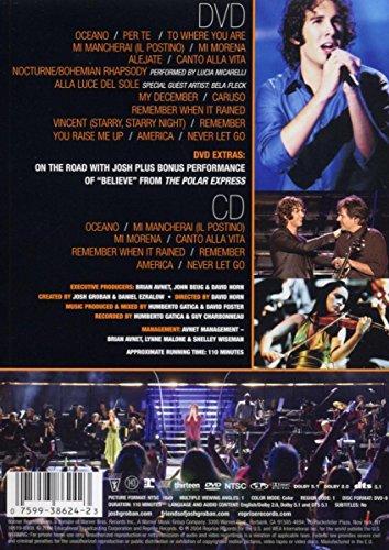 Josh Groban - Live at the Greek (DVD + CD)