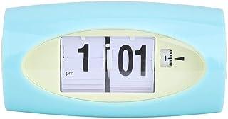 Automatyczny zegarek z klapką – automatyczny budzik budzik wskaźnik temperatury retro wystrój domu zielony (attry nie wcho...