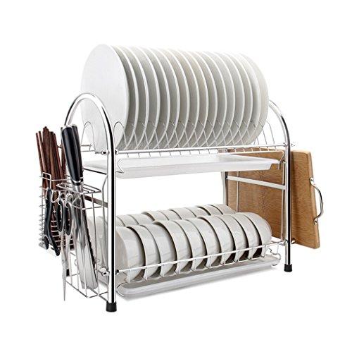 Étagère de cuisine/Support à vaisselle/Support en acier inoxydable/Égouttoir/Étagère de cuisine multifonction (Type U)