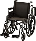 NOVA Lightweight Wheelchair with Flip Up Desk Arms (for...