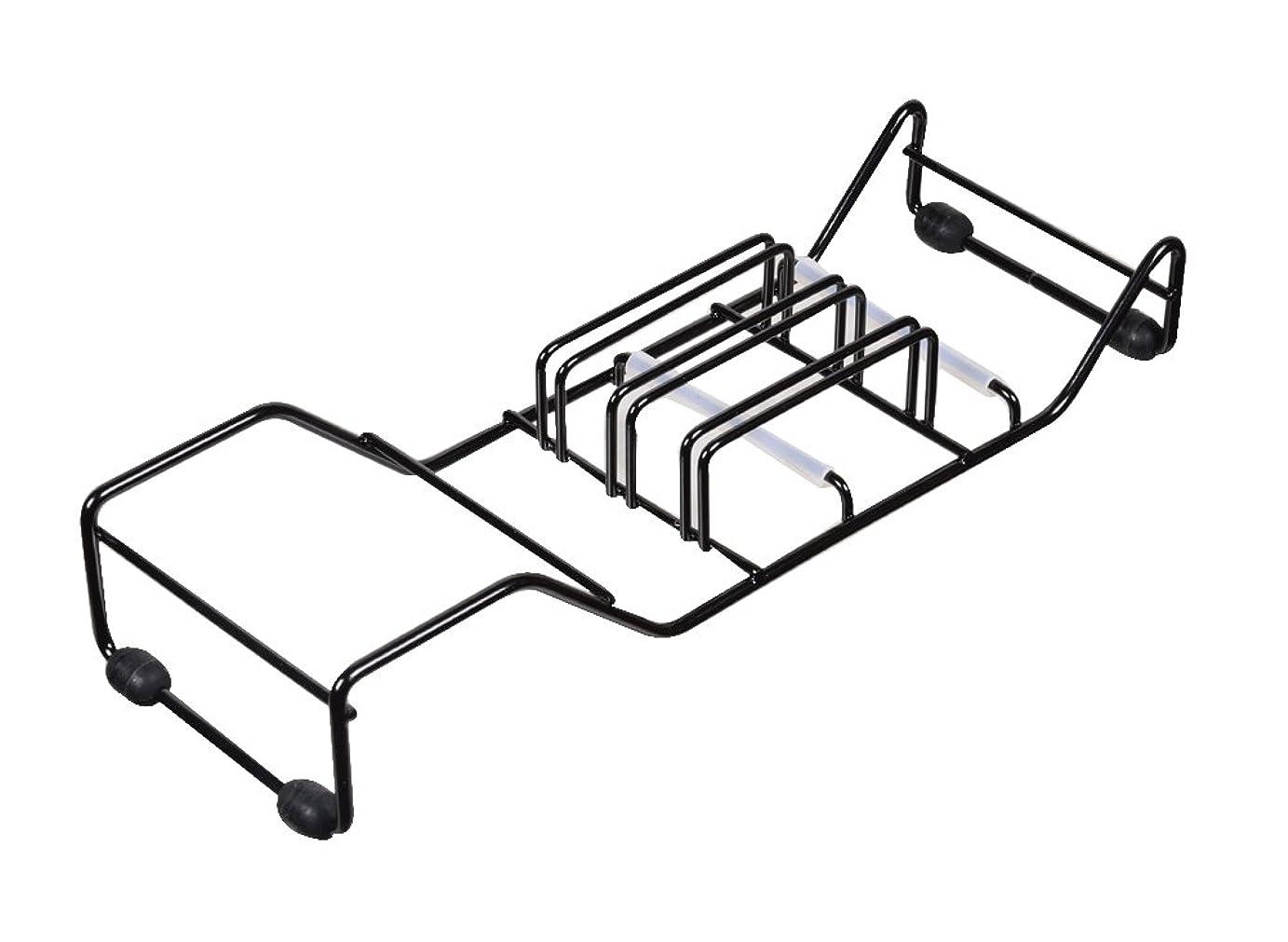 シェフアライメントにおいパール金属 スキット ワイヤー 包丁 置き ブラック HB-1280