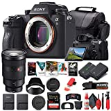 Sony Alpha a9 Mirrorless Digital Camera (Body Only) (ILCE9/B) + Sony FE 24-70mm Lens + 64GB Memory Card + NP-FZ-100 Battery + Corel Photo Software + Case + Card Reader + More (Renewed)