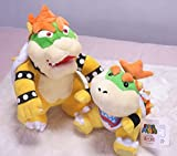 Speedup Super Mario 6.5' Bowser Jr. And 10' Standing Bowser Koopa King Character Stuffed Plush Toy Figure Kids Gift