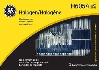 GE 18534 Standard H6054 OEM Halogen Replacement Headlight Bulb  1 Pack