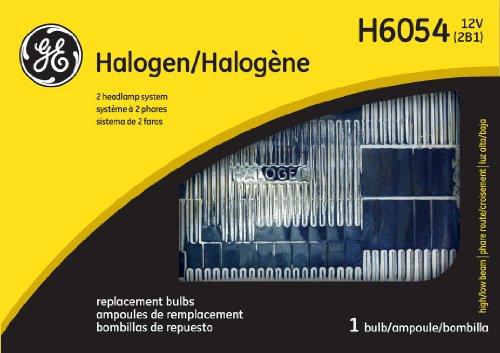 GE 18534 Standard H6054 OEM Halogen Replacement Headlight Bulb, (1 Pack)