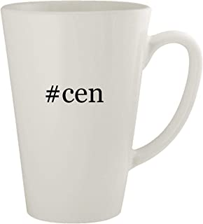 #cen - Ceramic 17oz Latte Coffee Mug