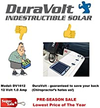 Now 20 Watt 1.0 Amp – Solar Battery Charger – Boat, RV, Marine & Trolling..