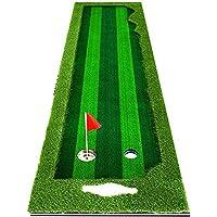屋内ゴルフパッティンググリーン、マルチコースデザインゴルフパッティング練習グリーンプロゴルフ練習マット屋外および屋内用のロングチャレンジングパター