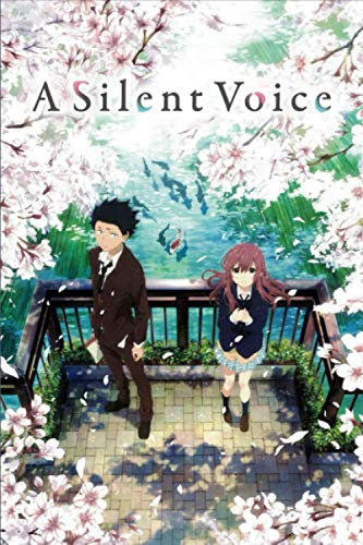 A Silent Voice: Japanese Anime Notebook, 6 x 9- 100 Blank Pages - Anime Journal, Otaku Gift Notebook, Journal College Diary, Gift For Boys, Girls, Artists & Adults