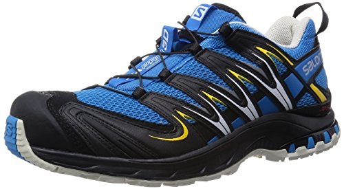 Salomon Salomon Herren Xa Pro 3D Fitnessschuhe, Blau (Methyl Blue/Light Grey/Black), 44 2/3 EU