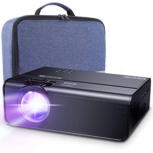 Mini Projector, Uyole Portable Projector for Outdoor Movies, 4500L Outdoor Movie Projector, Support...
