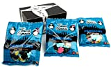 Gustaf's Penguins Gummy Candy, 5.29 oz Bags in a BlackTie Box (Pack of 3)