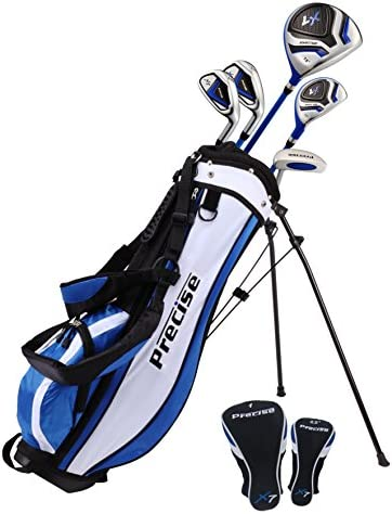 Distinctive Right Handed Junior Golf Club Set for Age 9 to 12 Height 4 4 to 5 Set Includes Driver product image
