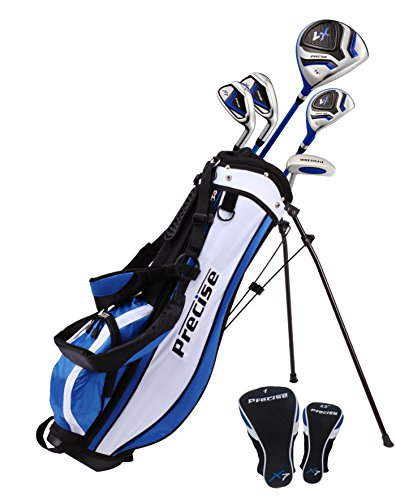 PreciseGolf Co. Precise X7 Junior Complete Golf Club Set for Children Kids - 3 Age Groups Boys &...