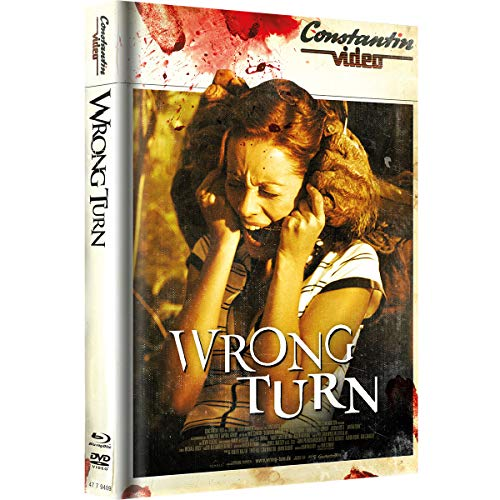 Wrong Turn - Limited Uncut Mediabook (Retro Cover)