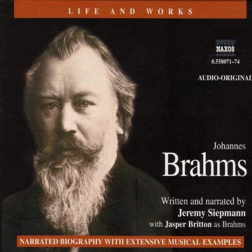 Life & Works - Johannes Brahms audiobook cover art