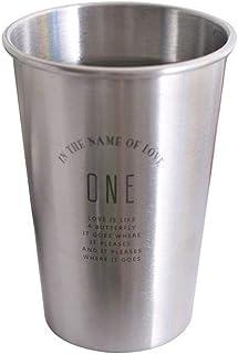 Nrpfell 304 Stainless Steel Mugs Breakfast Milk Fruit Juice Tea Ice Beer Coffee Mugs Durable Metal Cup