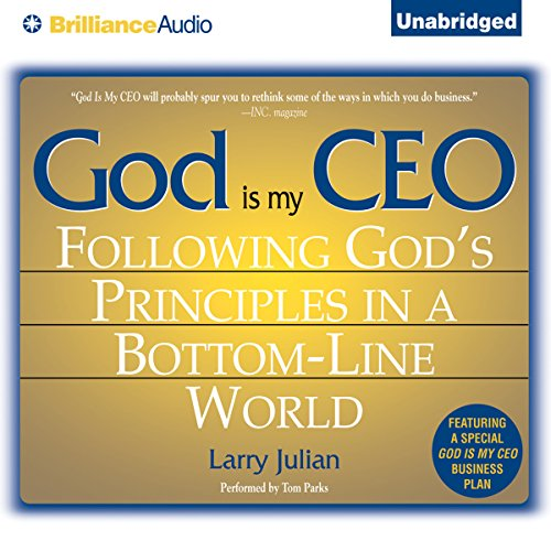 God Is My CEO audiobook cover art
