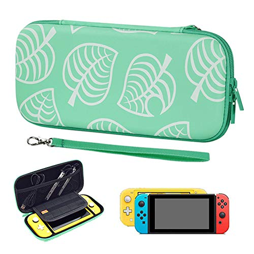 Carrying Case for Nintendo Switch/Switch Lite, Portable Full Protective Case for Switch, Slim Travel Bag Cover for Nintendo Switch/Lite-Games & Accessories (for Switch,Green)