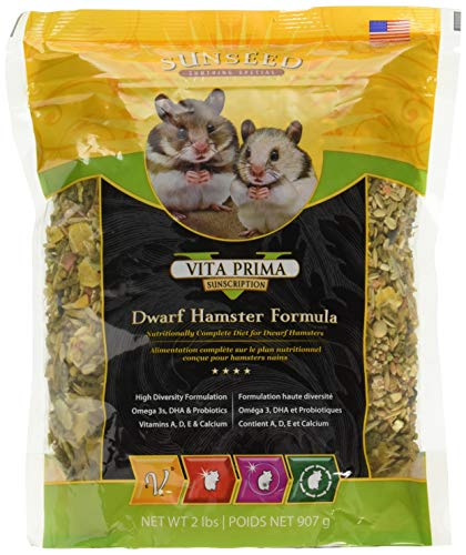 Sunseed Vita Prima Sunscription Dwarf Hamster Formula