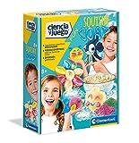 Clementoni-55370 - Jabones Squishy - juego científico a partir de 8 años