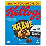 Kellogg's Choco Krave, Cioccolato al Latte, 410g