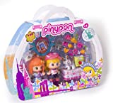 Famosa Pin y Pon Gift Pack Viajes Surtido - Set temático de 3 muñecos pinypon con accesorios