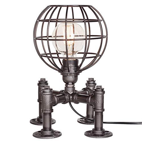 Lampe de table F Lampe de table Personnalité Creative Retro Salon Chambre Gradation Lampe de table décorative (Couleur : A)