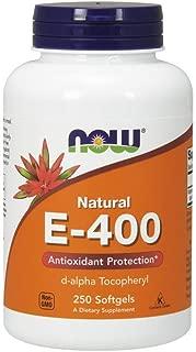 NOW Supplements, Vitamin E-400 IU D-Alpha, 250 Softgels
