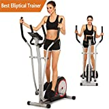 Tomasar Elliptical Exercise Machine Magnetic Smooth Quiet Driven Eliptical Trainer Machine for Home Use (Elliptical Training Machines)