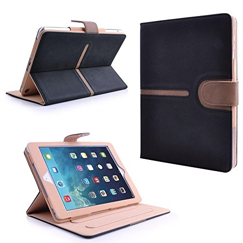 MOFRED Buckle Suede Leather Apple Air (Launched 2013) Case- Executive Suede Leather Case for Apple iPad Air with Built-in magnet for Sleep & Awake Feature (For iPad Models A1474,A1475 and A1476)