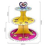 Zoom IMG-1 heiqlay alzata cupcake cartone per