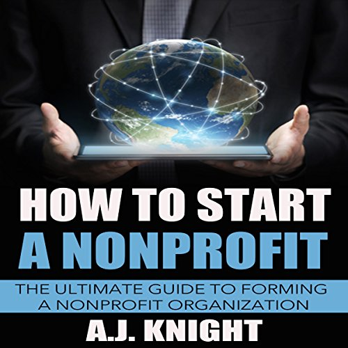 How to Start a Nonprofit audiobook cover art