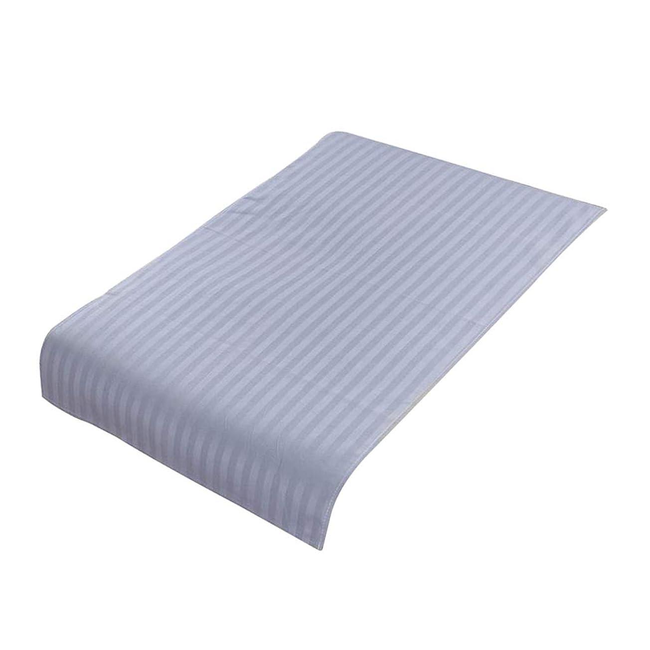 私達エンジニアオンスPETSOLA 美容院ベッドカバー 断面 スパ マッサージベッドスカート ピュアコットン 快適 (90×60cm) - ライトブルー