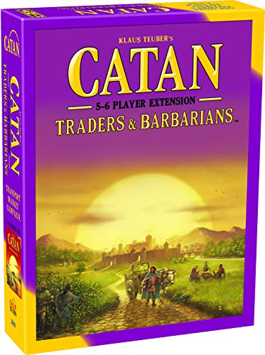 Catan Traders and Barbarians Board Game Extension Allowing a Total of 5 to 6 Players for The Catan Traders and Barbarians Expansion | Board Game for Adults and Family | Made by Catan Studio